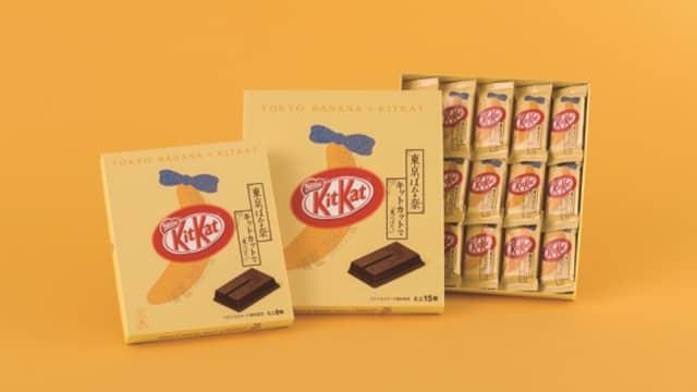 Kit Kat Hadirkan Cokelat dengan Rasa Tokyo Banana yang Creamy