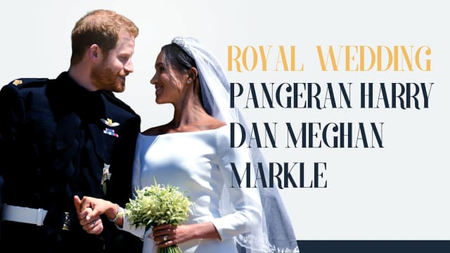 Infografik: Fakta Pernikahan Pangeran Harry dan Meghan Markle