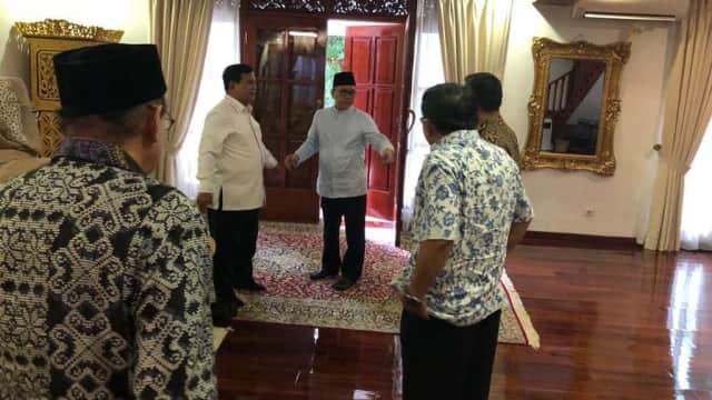 PKS, PAN, dan Gerindra Bertemu: Sepakat Prabowo Capres