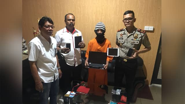 Remaja di Bali Bobol Rumah Warga, Gasak Barang Senilai Rp 150 Juta