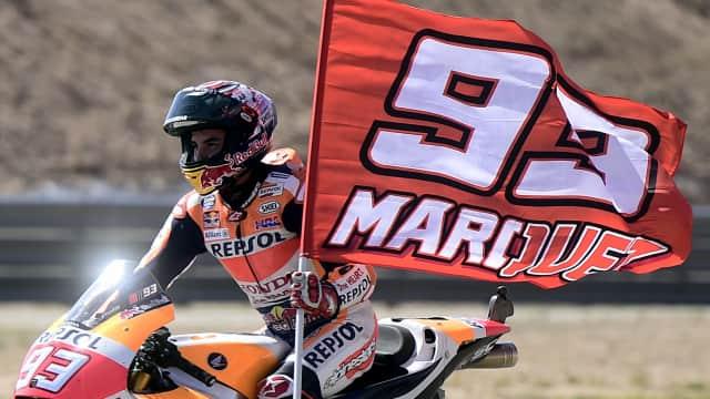 Pedrosa Juara di Valencia, Marquez Juara Dunia