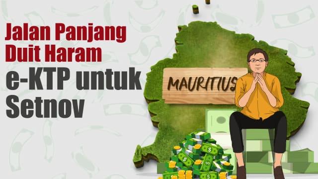 Infografik: Jalan Panjang Duit Haram e-KTP untuk Setya Novanto