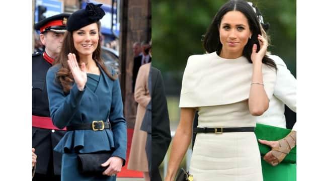 Membandingkan Gaya 'Kencan Pertama' Meghan & Kate dengan Ratu Inggris