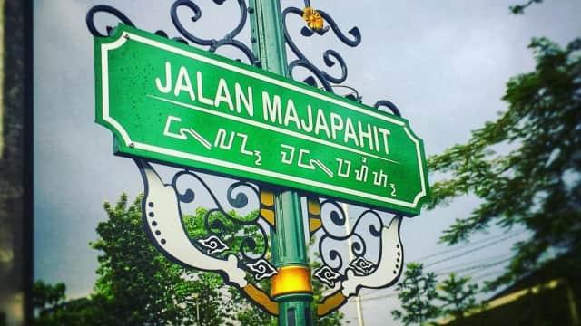 Balada Jalan Majapahit dan Hayam Wuruk di Bandung
