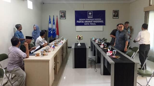 DPD PAN Tegal Siap Menangkan Sudirman Said di Pilgub Jateng