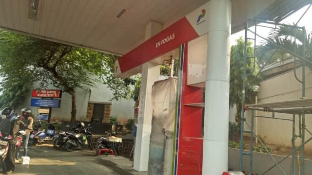 SPBU Gas di Jakarta: Sepi Peminat hingga Tak Terpakai
