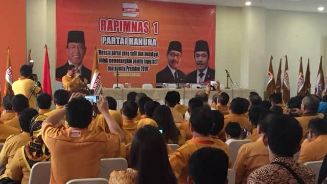 Hanura Kubu Sudding Gelar Rapimnas Hadapi Pemilu 2019