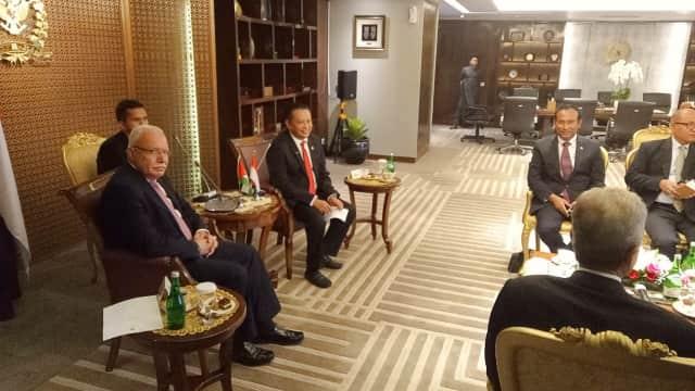 Terima Menlu Riyad, Ketua DPR Dukung Penuh Kemerdekaan Palestina