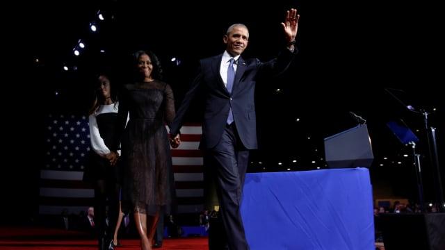 Air Mata Perpisahan di Pidato Obama