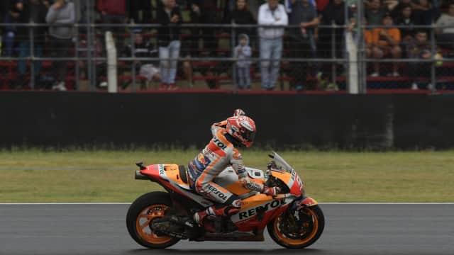 FP1 MotoGP Prancis: Marquez Tercepat, Rossi Keenam