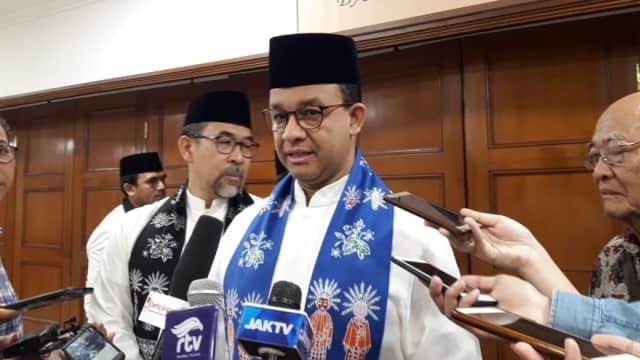 Anies soal Syaikhu Kandidat Wagub DKI: Belum Ada Pembicaraan Formal