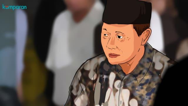 """Di Balik """"Khianat"""" Harmoko pada Soeharto"""