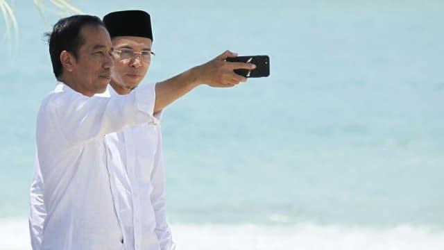 TGB dan Strategi Jokowi Merangkul Lawan