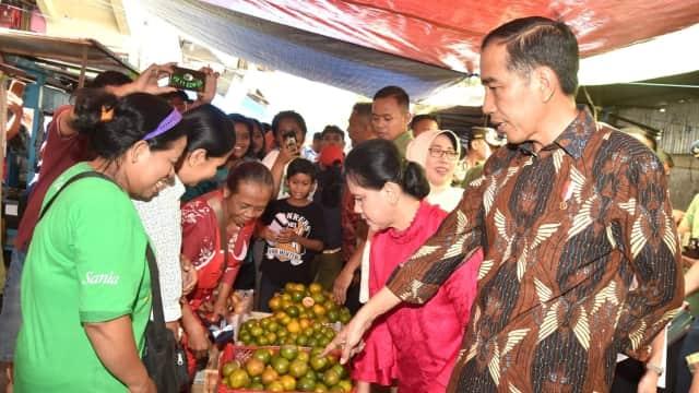Jokowi Ingin Pasar Gede Klaten Dirombak Total