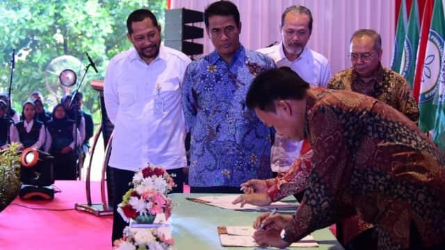 Mentan Resmikan Politeknik Pertanian di Bogor: Peminatnya Banyak