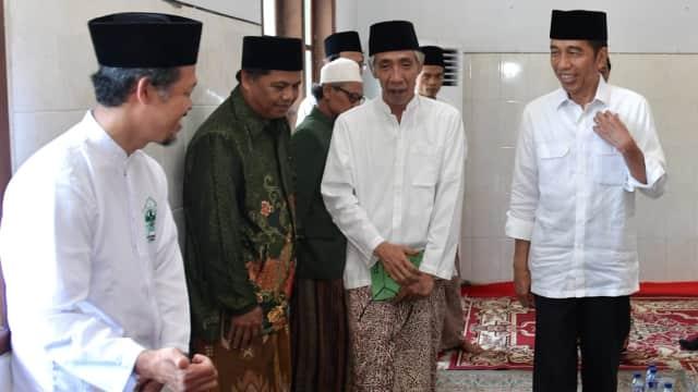 Jokowi Kunjungi Ponpes di Semarang: Hoaks Bukan Tata Krama Indonesia