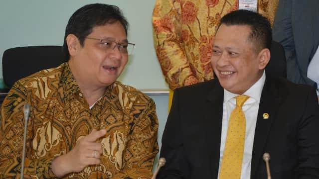 Bamsoet Dilantik Jadi Ketua Pukul 16.00 WIB di Paripurna DPR