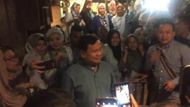 Anies, Sandi, hingga Zulkifli Hasan Hadiri Peringatan HUT Prabowo