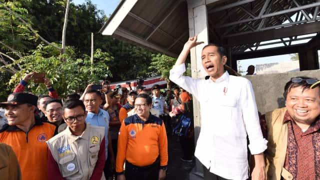 Jokowi: Pemberian Beasiswa ke Mahasiswa Lombok Jangan Hanya Simbolis