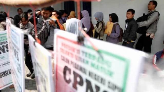 7.225 Pelamar Rebutkan 469 Jatah 'Kursi' Pegawai Negeri di Blitar