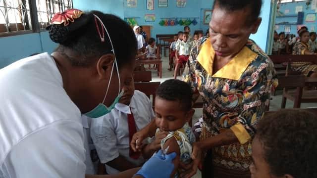40 Persen Orang Tua di Karubaga Tak Izinkan Anaknya Imunisasi Rubella