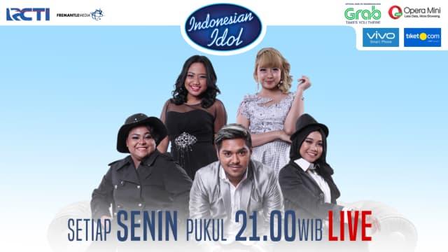 Ketinggalan Nonton Indonesian Idol? Cek Live Streaming dan Video Babak Spektakuler di Sini