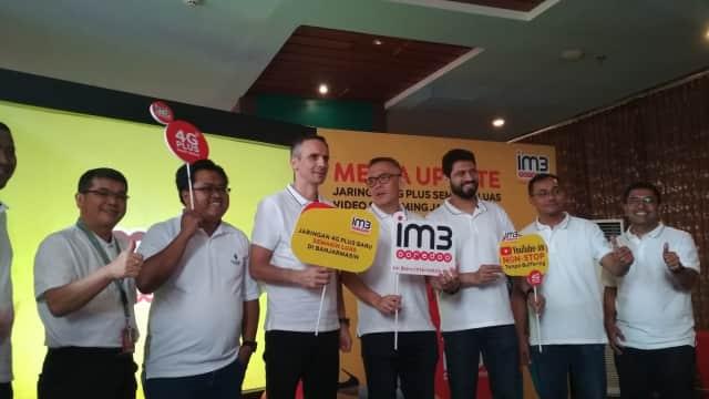 Indosat Ooredoo Perluas Jaringan 4G Plus di Kalsel