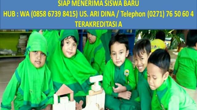 WA 085867398415, KB & TK ISLAM AL A'RAAF SOLO, TK Islam Terbaik di Solo.