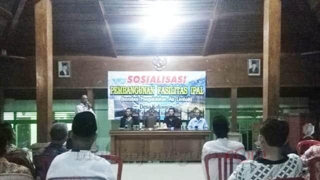 Pentingnya Pengolahan Air Limbah, Desa Kalianyar Bojonegoro Rencanakan Pembangunan IPAL