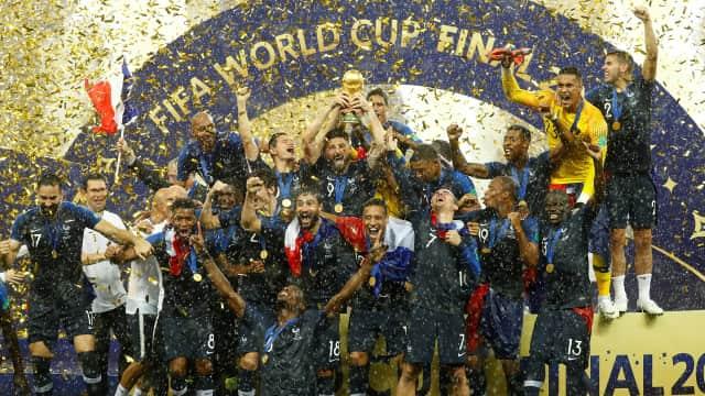 Yes, Prancis Akhirnya World Cup Champion