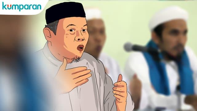 Al Khaththath Ditahan di Mako Brimob Kelapa Dua
