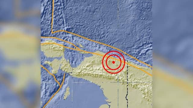 Gempa Guncang Jayapura