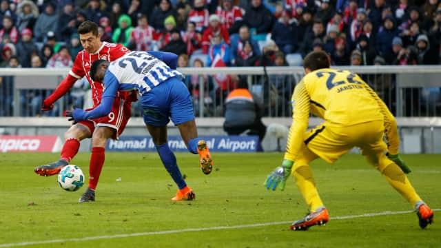 Hertha Tahan Imbang Bayern Tanpa Gol