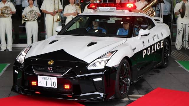 Di Jepang Nissan GT-R Jadi Mobil Dinas Polisi