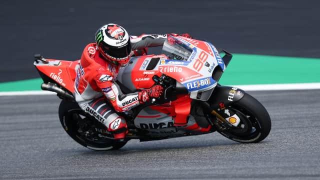 GP Aragon: Salip Dovizioso dan Marquez, Lorenzo Rebut Pole Position