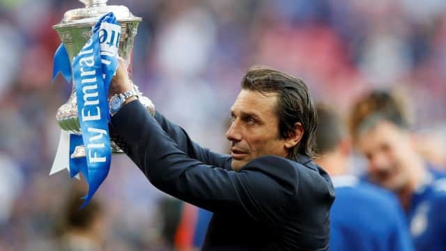 Trofi Piala FA sebagai Pembuktian Conte