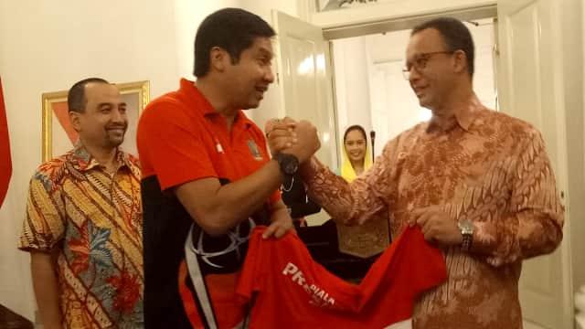 Maruarar Sirait: Tak Semua Pejabat Ikut Jokowi Serahkan Piala Presiden