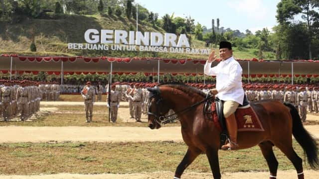 Prabowo Tegaskan Tak Mungkin Jadi Cawapres Jokowi