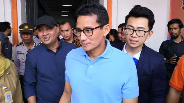 Sandi: Jadwal Pertemuan Prabowo - Jokowi Masih Difinalisasi