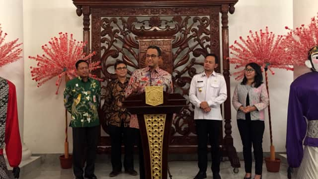Anies Siapkan Program Strategis Daerah di Jakarta