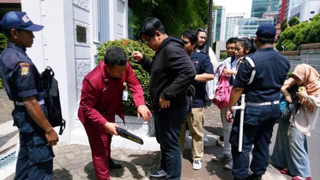 Pengamanan Kedubes Rusia di Jakarta Ditingkatkan