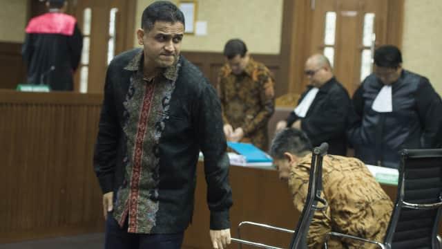 Nazaruddin Sebut Andi Narogong Ikut Andil Ganti Dirjen Dukcapil