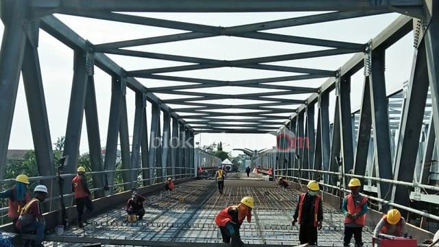 Perbaikan Jembatan Widang-Babat Tuban Sudah Mencapai 94%