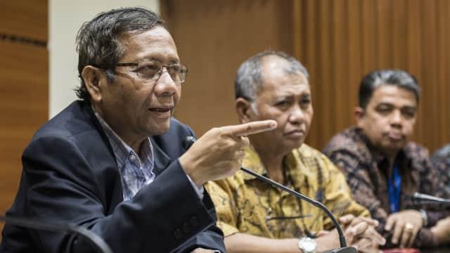 Mahfud MD soal Setnov Kembalikan Rp 5 M ke KPK: Korupsi Terbukti Ada