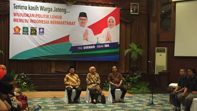 Sudirman-Ida Temui Relawan Pemenangan se-Jawa Tengah