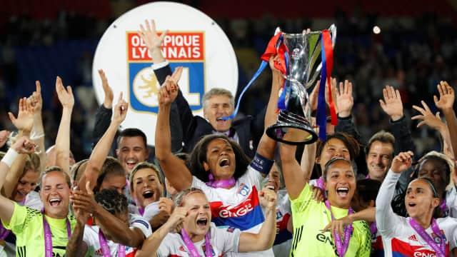 Lewat Drama Adu Penalti, Lyon Rengkuh Trofi Liga Champions