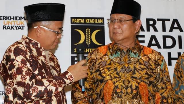 Sohibul Iman Ungkap Calon Wagub DKI: Ahmad Syaikhu dan Agung Yulianto