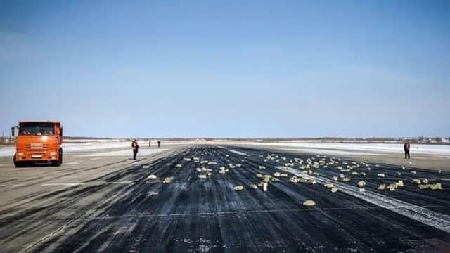 Landasan Pacu Bandara Rusia Dipenuhi Emas dan Logam Mulia