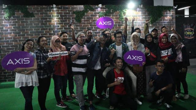 Sambangi Jember, AXIS Pop Up Station Sukses Bidik Generasi Milenial