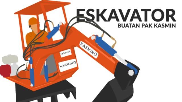 Kasmino Ekskavator Lokal Made in Semarang